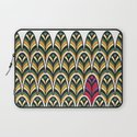 Rubine Feather Laptop Sleeve
