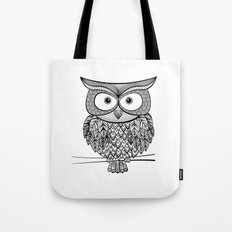 Hoot! Says the owl Tote Bag
