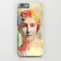 iPhone & iPod Case featuring A simple girl by Ganech joe