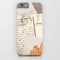 Vintage Postcards iPhone 6 Slim Case