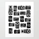 Yashica bundle  Art Print