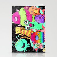 Intergalactic Dance Part… Stationery Cards