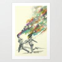 Emanate Art Print