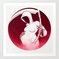 Death and Life Art Print