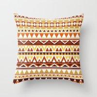 Aztec 1 Throw Pillow