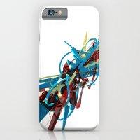 3d graffiti - 'Hyper iPhone 6 Slim Case