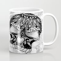 Sugar Skull.  Mug