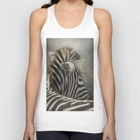 The striped Mohican Unisex Tank Top