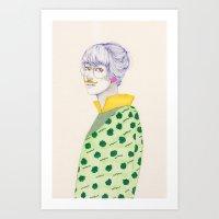 Something For November Art Print
