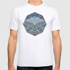 Geometry Mens Fitted Tee Ash Grey SMALL