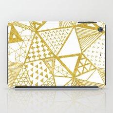 Golden Doodle triangles iPad Case