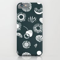 iPhone & iPod Case featuring Seaflower mono by mrs eliot books