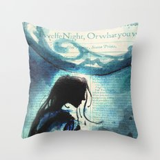 Twelfth Night Viola Throw Pillow