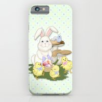 White Rabbit And Easter … iPhone 6 Slim Case