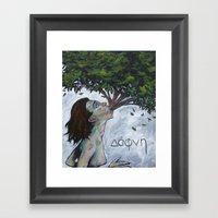 Dafni Framed Art Print