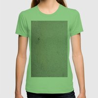 Keep Buffing Womens Fitted Tee Grass SMALL