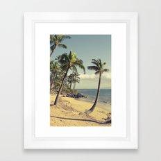 Maui Lu Beach Kihei Maui… Framed Art Print
