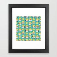 Pattern Project #10 /Lem… Framed Art Print