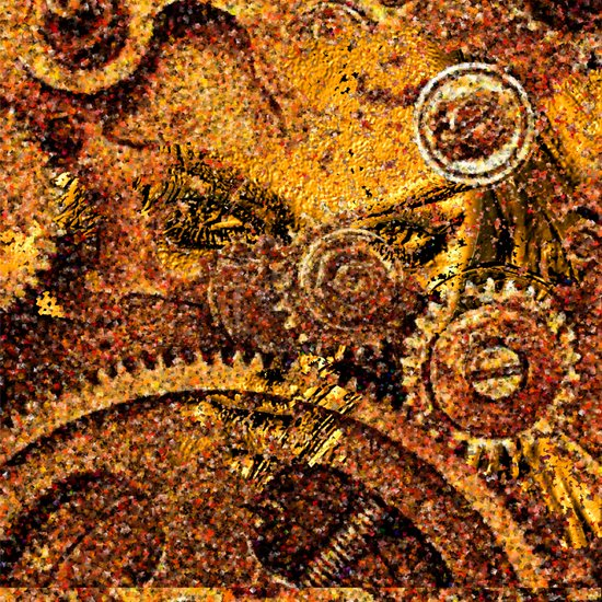 ancient mechanism Art Print