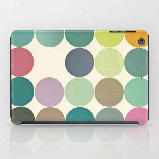 Circles I iPad Case