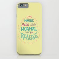 Maybe You're More Normal… iPhone 6 Slim Case