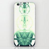 Oil the wheels iPhone & iPod Skin