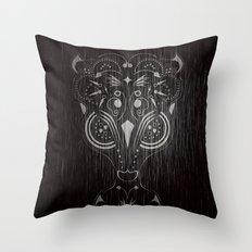 Bambi on acid Throw Pillow