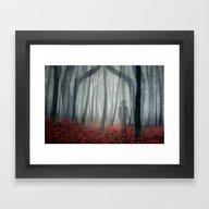 Framed Art Print featuring Into The Light by David Hughes