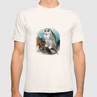 Wise Man Mens Fitted Tee Natural SMALL