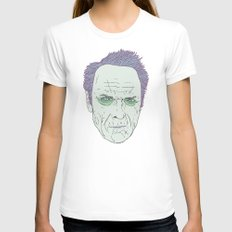 Clint Eastwood Womens Fitted Tee White SMALL