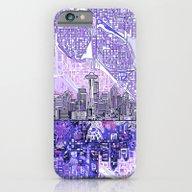 Seattle City Skyline iPhone 6 Slim Case