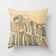 Ocean Of Love Throw Pillow