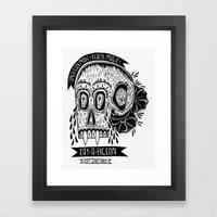 American Made X Black Ma… Framed Art Print