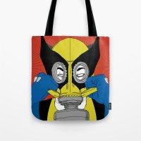 Wolverine Gas Mask Tote Bag