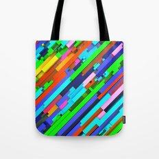 NeonGlitch 3.0 Tote Bag