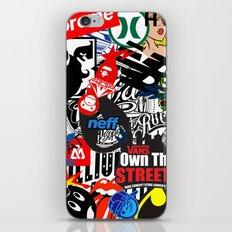 decals iPhone & iPod Skin