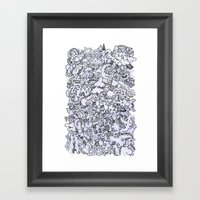 Night World (Original) Framed Art Print