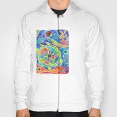 Sea Turtle Abstract Hoody