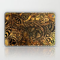 Autumnal Tangles Laptop & iPad Skin