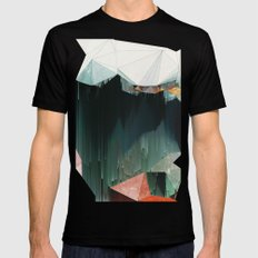 BRKNRFLCTN SMALL Black Mens Fitted Tee