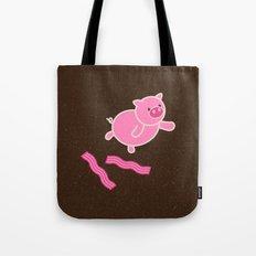Don't Stop Piggin' Out Tote Bag