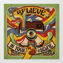 Believe in your selfie Canvas Print