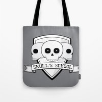 Skull's School Tote Bag