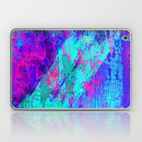 AA4 Abstract watercolour collage Laptop & iPad Skin