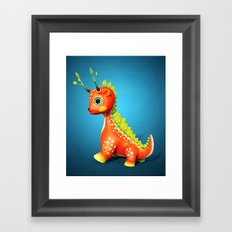 The Leaf Dragon Framed Art Print