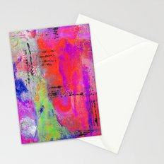 Mixed Media Abstract 2 Stationery Cards