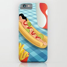 Hot Dog Girl iPhone 6 Slim Case