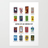 Open Up And Drink Up Art Print