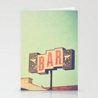 Bar. Los Angeles Photogr… Stationery Cards