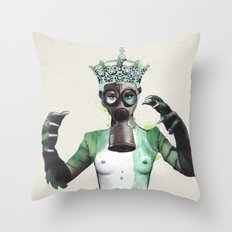 The Creatures Wife  Throw Pillow
